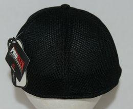 OC SPORTS PFX-120 PROFLEX STRETCH FIT MESH BASEBALL CAP - BLACK image 4