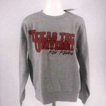 NWT NCAA Texas Tech Red Raiders Crew Neck Long Sleeve SweatShirt Thumb h... - $19.95