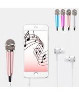 Studio Portable Mini 3.5mm Stereo Studio Speech Mic Audio Microphone Fo... - $18.99