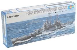 Trumpeter 1/700 USS Pittsburgh CA72 Heavy Cruiser 1944 Model Kit - $40.67