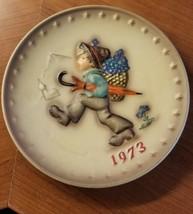 1973 M.J. Hummel 3rd Annual Plate  Goebel-Porzellanfabrik Rodental West Germany - $18.00