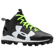 Under Armour Crusher RM Black Football Cleats Men's 12 NWT (NO BOX) FREE... - $22.99