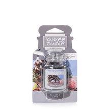 4 new yankee candle ultimate car jar air freshener balsam & clove - $13.00
