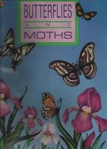 Butterflies & Moths - Troubador Press  SC 1981 Price Stern Sloan - Color... - $3.42