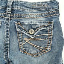 Silver McKenzie Light Wash Slim Boot Cut Flap Pocket Denim Jeans 24 24x30 - $24.61
