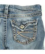 Silver McKenzie Light Wash Slim Boot Cut Flap Pocket Denim Jeans 24 24x30 - $24.61