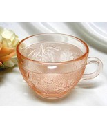 1213 Vintage Indiana Tiara Pink Sandwich Coffee Cup - $5.00