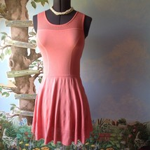 Cynthia Rowley Woman Sleeveless Peach Knit Dress Size Medium  - $36.62