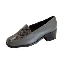 PEERAGE Zula Women's Wide Width Leather Animal Print Slip-on Shoes - $29.95