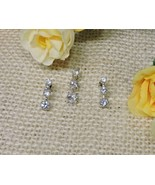 Genuine Authentic .925 Sterling Silver Pendant 925 Earring Set CZ Cubic ... - $38.60