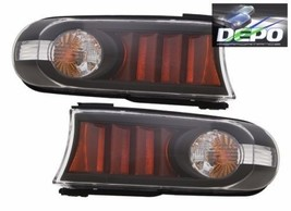 TOYOTA FJ CRUISER 2010 2011 2012 BLACK PARK TURN SIGNAL LIGHTS LAMPS BLA... - $93.01
