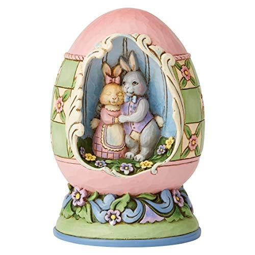 Primary image for Enesco Jim Shore Heartwood Creek Easter Egg with Bunny Scene