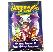 Vintage 1995 Gargoyles The Movie Pin Button Disney Rectangle 3 x 2 inches - $9.99