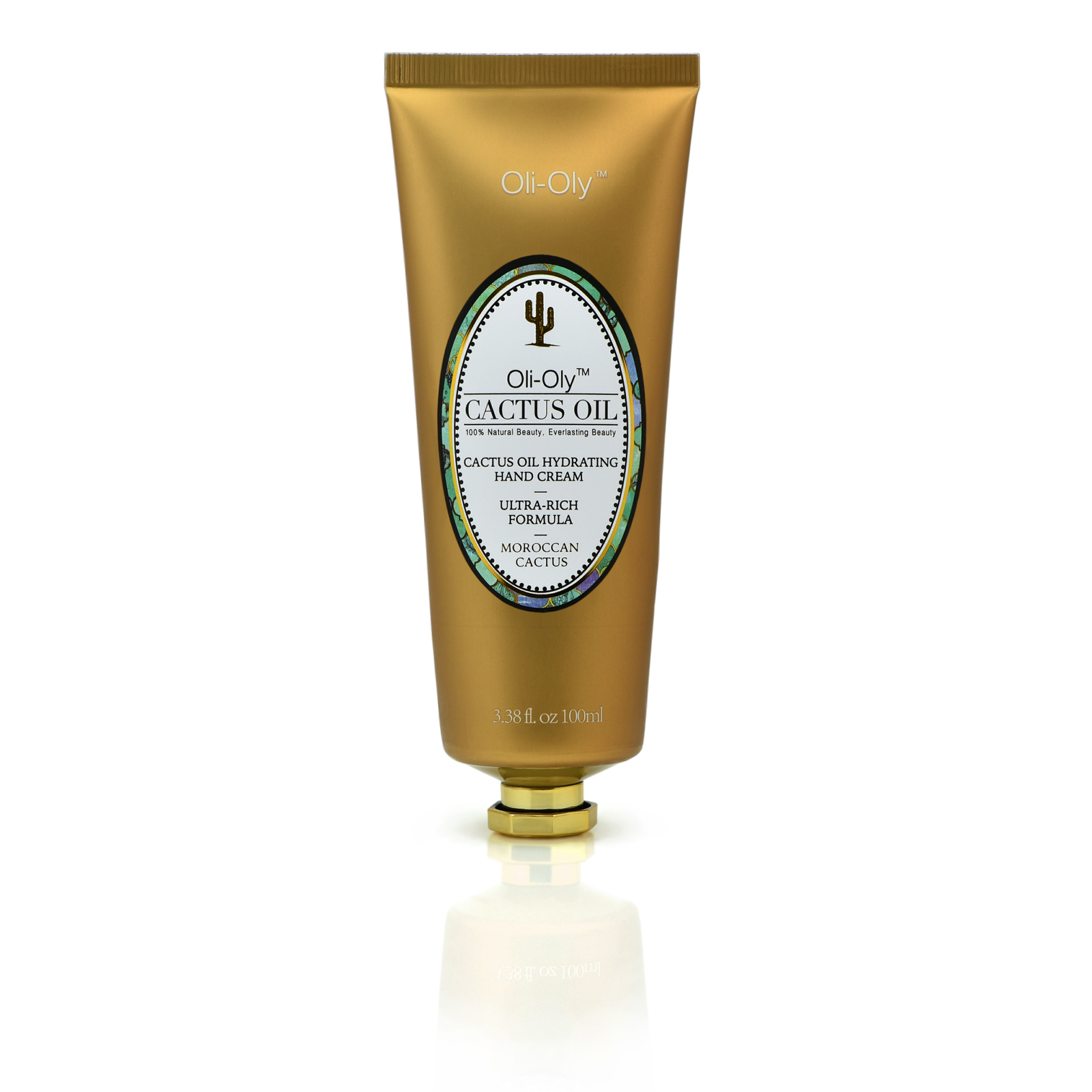 Natural Hydrating Hand Cream with Moroccan Cactus Oil 100 ml by Oli-Oly