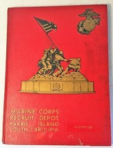 1975 Marine Corps Recruit Depot Parris Island South Carolina Platoon 183 Book