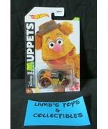 2020 Hot Wheels Disney The Muppets Fozzie Bear Cool One 4/5 Mattel Die c... - $9.48
