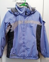 Columbia Convert Board Jacket - Women's S - Lilac & Gray - Pristine Condition - $25.67