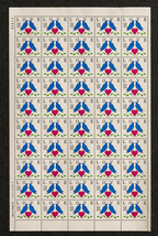 Love Stamps, Sheet of 25 cent stamps, 50 stamps... - $15.00
