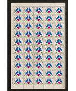 Love Stamps, Sheet of 25 cent stamps, 50 stamps total - $15.00