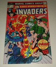 Invaders Comic #4 January 1976 Marvel Captain America U-Man WW2 - $20.00