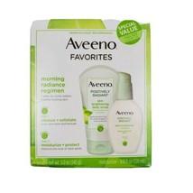 Aveeno Favorites Set Positively Radiant Daily Scrub 5oz & Daily Moisturizer 4oz - $19.95