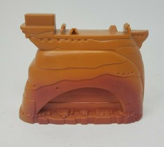 FISHER PRICE GEO TRAX BROWN ROCK RISER SUPPORT PLASTIC REPLACEMENT PART ... - $7.70