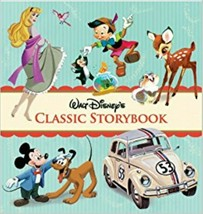 Walt Disney Classic Storybook Vol 3 Story Book Collection Hardcover June... - $14.84