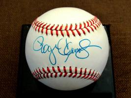 ROGER CLEMENS BOSTON RED SOX YANKEES SIGNED AUTO VINTAGE OAL BASEBALL JSA - $197.99