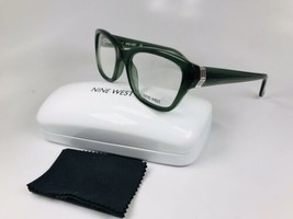 New Nine West NW5115 317 Crystal Jade Eyeglasses 52mm with Case & Cloth - $44.50