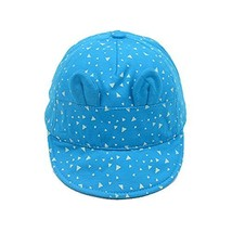 Cap Baby Hat Sunscreen Breathable Baby Cuff Cotton Baseball Cap Visor image 1