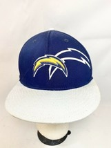 Reebok NFL Apparel Los Angeles Chargers Hat Blue L/XL Fitted  - £14.37 GBP