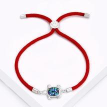 Sea Turtle Bracelet Jewelry Women Girls Red Rope Fashion New Gift Pulsera - $15.95