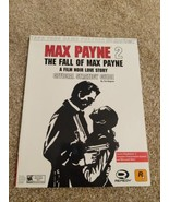 Max Payne 2 Official Strategy Guide Book PS2 Xbox Brady Games - $9.89