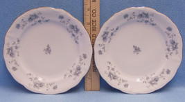 Vintage Johann Haviland Blue Garland Dessert Plates Bavaria Germany Mark... - $15.83