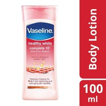Vaseline Healthy White Complete 10 Body Lotion Reduces Dark Spots , 100 ml - $10.50