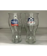 "Set of Two Samuel Adams ""For The Love of Beer"" One Pint Glasses - $9.49"