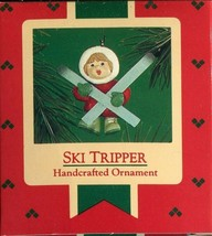 1986 - New in Box - Hallmark Christmas Keepsake Ornament - Ski Tripper - $2.47