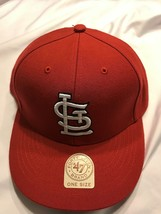 Team St. Louis Cardinals MLB 47Brand One Size Red Cap New with Tags - $14.20
