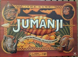 New JUMANJI Wood Play Pieces Wooden Board Game Full Sized CARDINAL 2017 ... - $35.53