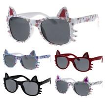 Kids Size Girls Kitty Ear Whisker Cute Horn Rim - $9.95