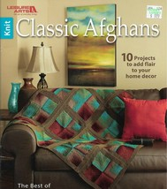 Classic Afghans-10 Projects to Add Flair to Your Home Decor-Best of Mary... - $6.76