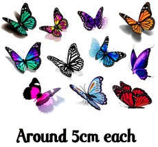 Butterfly 3D  Temporary Tattoos  - $11.00