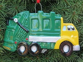 Rudolph and Me Garbage Truck Ornament - $17.31