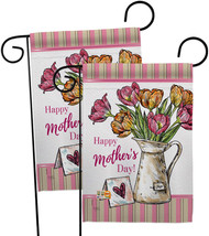 Mother Day Bouquet - Impressions Decorative 2 pcs Garden Flags Pack GP115148-BOA - $30.97