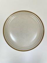 "Mikasa J2000 Stoneware Studio Kraft Couture 10 1/2"" Plate JAPAN Vtg Tan ... - $22.76"