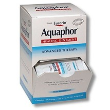 Aquaphor Healing Ointment,contains 144 packets,NET WT 0.03 OZ.0.9gEach - $49.12