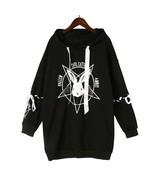 Fallen Evil Cutie Angel Rabbit Bat Harajuku Print Lace Women Fleeces Hoodies - $25.99