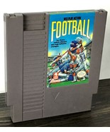 NES Play Action Football Nintendo Retro Vintage Video Game Cartridge Ori... - $8.39
