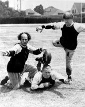 3 Stooges Football BL Vintage 11X14 BW TV Memorabilia Photo - $14.95