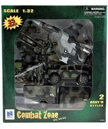 Combat Zone Play Series 1:32 Scale Military Jet Action Figure Navy New R... - $34.64